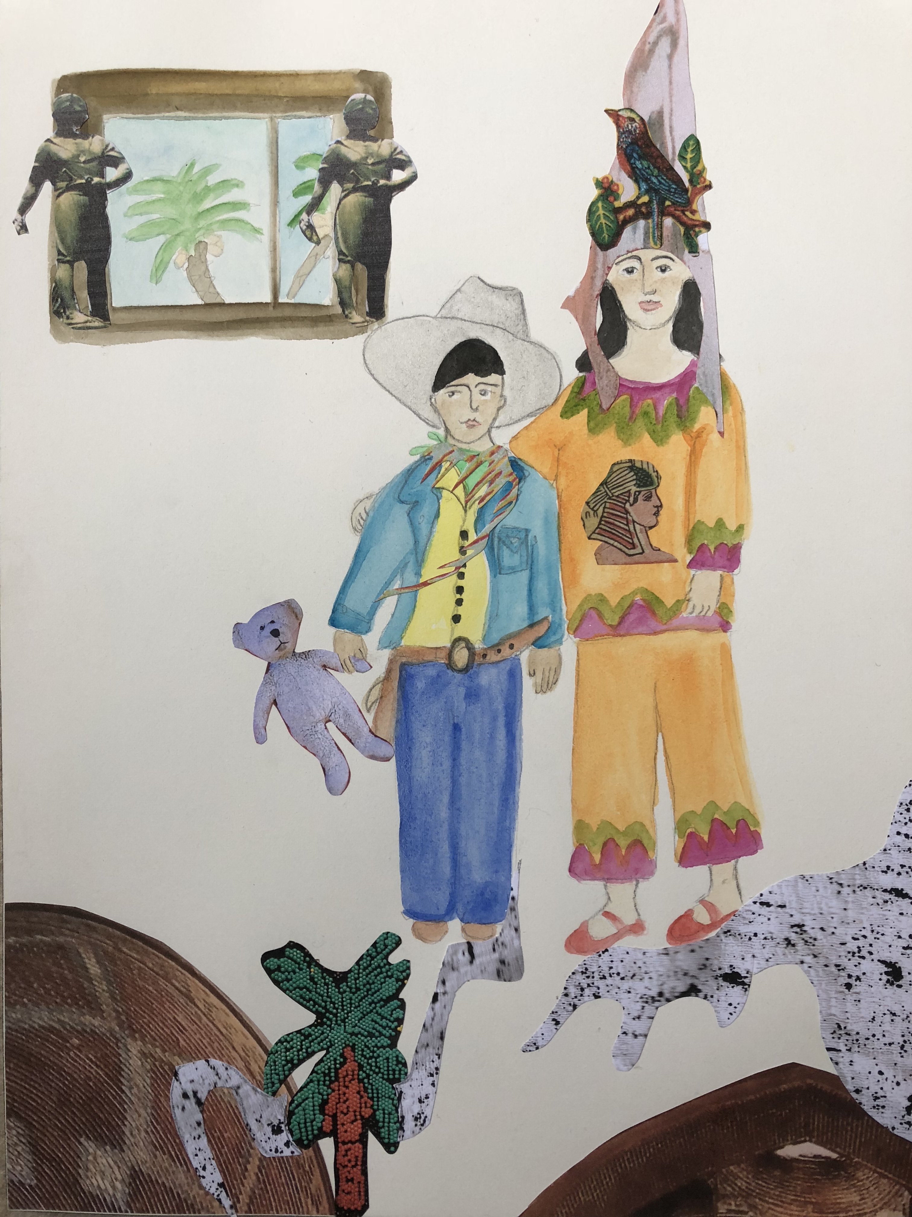We-Are-Our-Choices-Watercolor-by-Iranian-Artist-Afsoon
