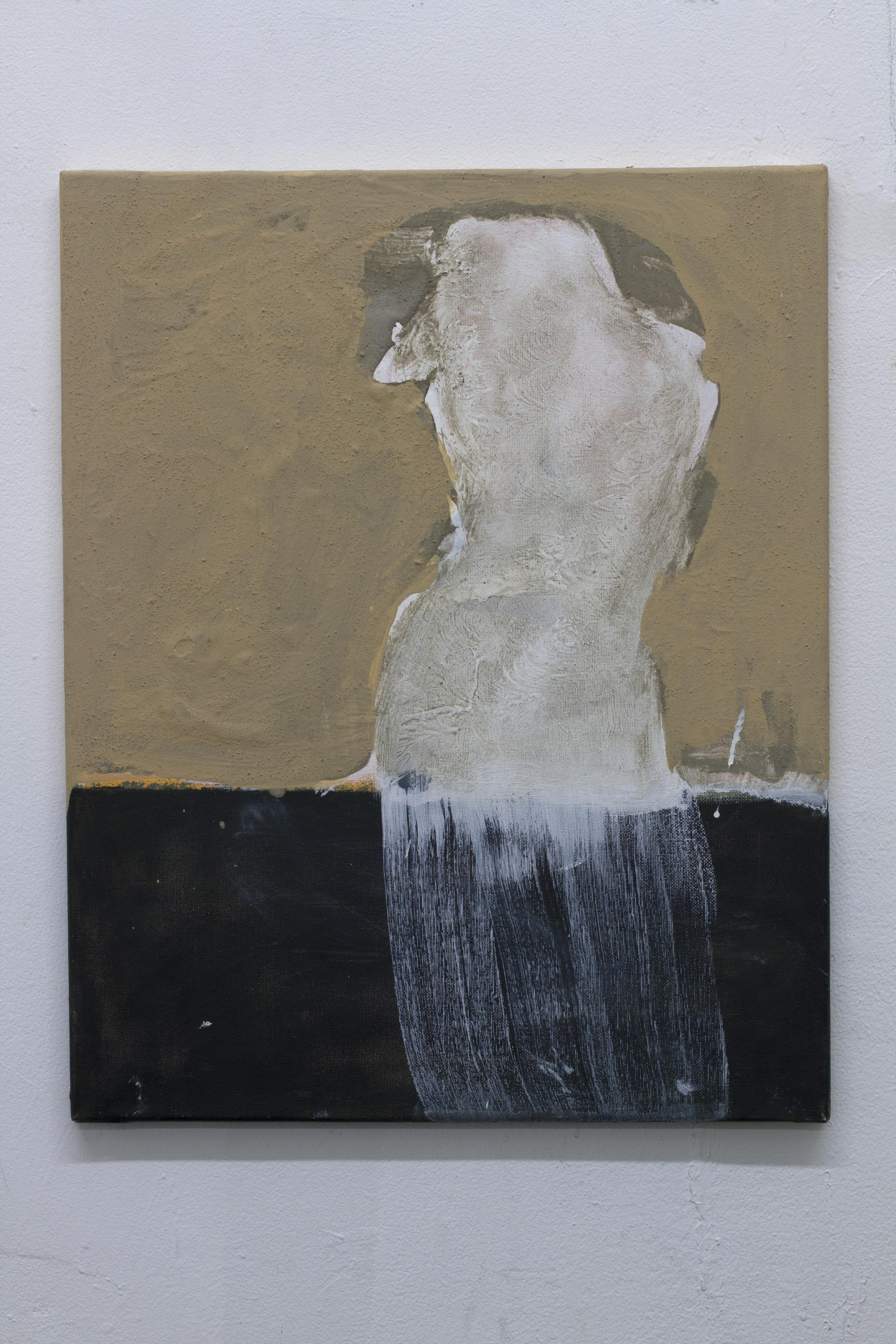 La Statua Perduta - Kamran Taherimoghaddam - 20x16