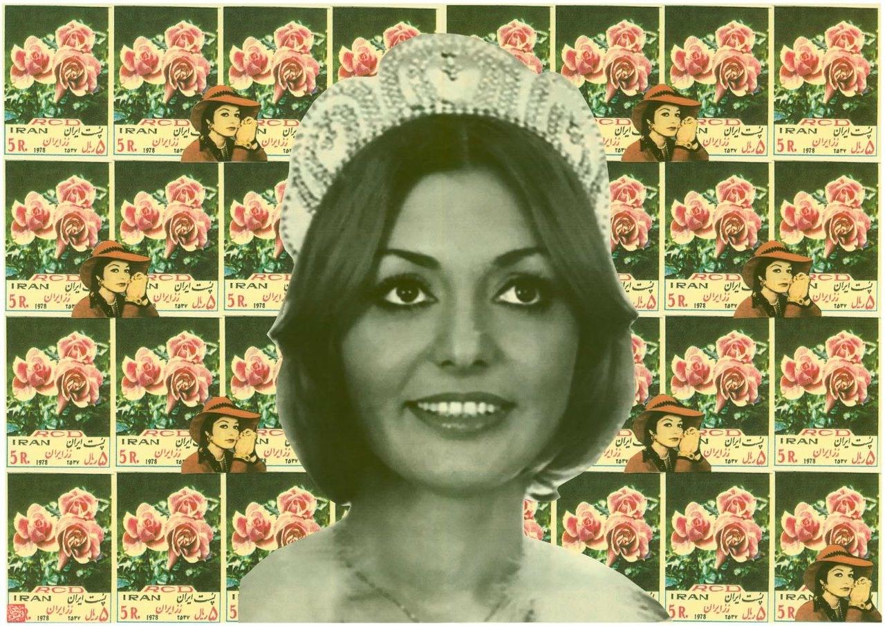 Googoosh-2-Collage-by-Iranian-Artist-Afsoon